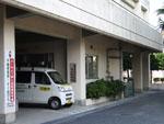 校区で購入した軽ワンボックスパトロールカー